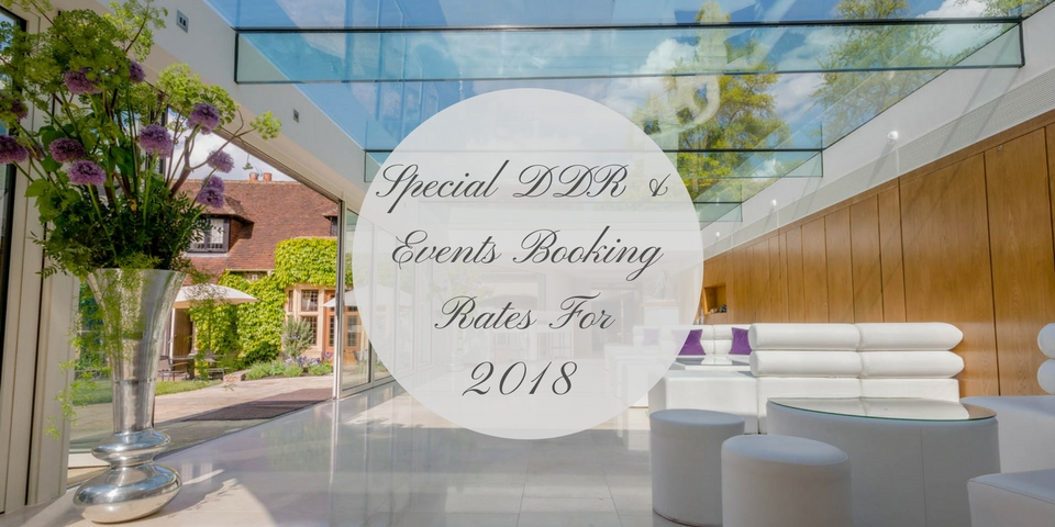 ddr and events booking rates for 2018