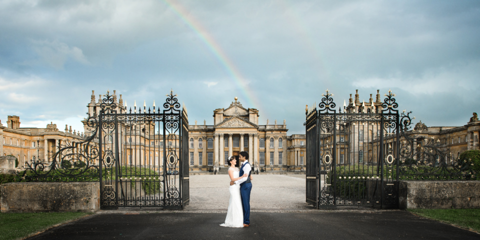 wedding at blenheim palace